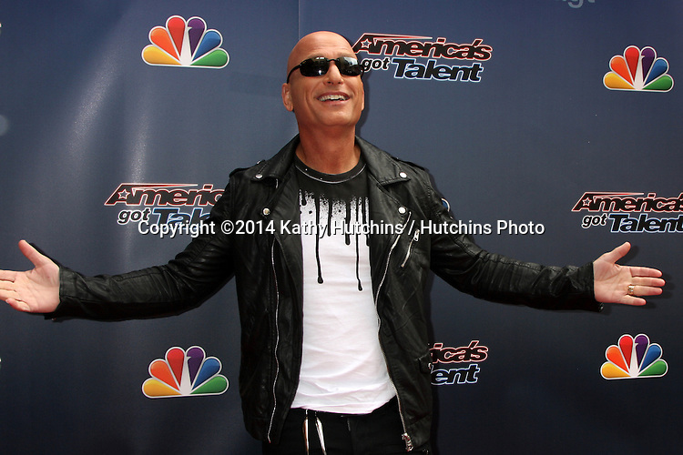 """LOS ANGELES - APR 22:  Howie Mandel at the """"America's Got Talent"""" Los Angeles Auditions Arrivals at Dolby Theater on April 22, 2014 in Los Angeles, CA"""