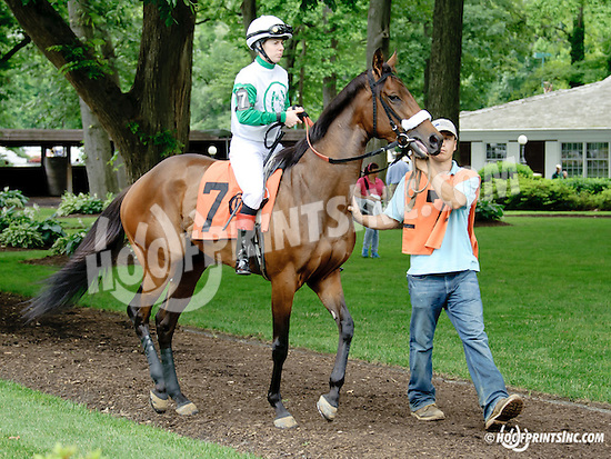 Mine o' Mine at Delaware Park racetrack on 6/21/14