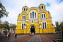 St Volodymyr's Cathedral, Kiev, Ukraine. October, 2012.