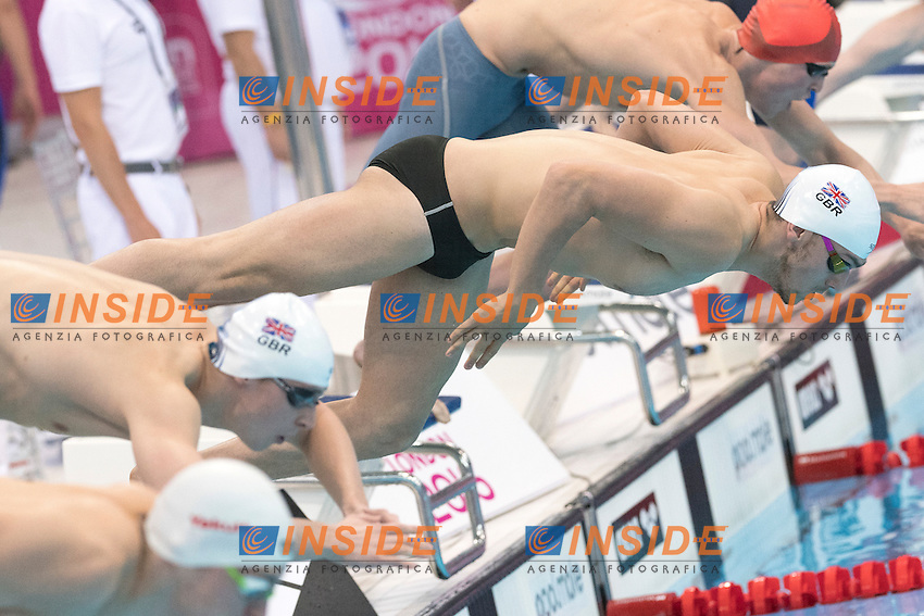 James GUY GBR <br /> 400m Freestyle Men  <br /> London, Queen Elizabeth II Olympic Park Pool <br /> LEN 2016 European Aquatics Elite Championships <br /> Diving  <br /> Day 08 16-05-2016<br /> Photo Andrea Staccioli/Deepbluemedia/Insidefoto