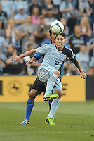 KANSAS CITY, KS - June 1, 2013:<br /> Claudio Bieler (16) forward Sporting KC in action.<br /> Montreal Impact defeated Sporting Kansas City 2-1 at Sporting Park.