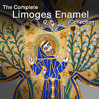 Pictures & images of Limoges Enamel reliquaries & antiquities