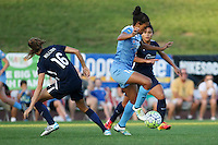 Piscataway, NJ - Saturday Aug. 27, 2016: Sarah Killion, Cara Walls during a regular season National Women's Soccer League (NWSL) match between Sky Blue FC and the Chicago Red Stars at Yurcak Field.
