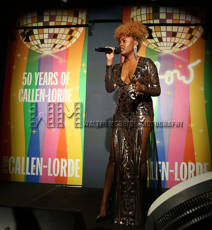 Islima Songbird during the GLOW: 50 Years of Callen-Lorde at Union Park on May 31, 2019  in New York City.