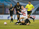 29/12/2010   Copyright  Pic : James Stewart.sct_jsp006_hamilton_v_aberdeen  .::  DEREK YOUNG GOES IN LATE ON GRANT GILLESPIE  ::.James Stewart Photography 19 Carronlea Drive, Falkirk. FK2 8DN      Vat Reg No. 607 6932 25.Telephone      : +44 (0)1324 570291 .Mobile              : +44 (0)7721 416997.E-mail  :  jim@jspa.co.uk.If you require further information then contact Jim Stewart on any of the numbers above.........