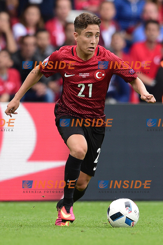 Emre Mor (Turkey)   <br /> Paris 12-06-2016 Parc des Princes Football Euro2016 Turkey - Croatia / Turchia - Croazia Group Stage Group D. Foto Panoramic / Insidefoto