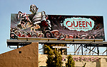 Queen - News of the World- billboard on the Sunset Strip circ 1979