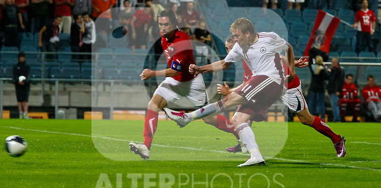 07.06.2011, UPC Arena, Graz, AUT, FSP, Oesterreich vs Lettland im Bild Artjoms Rudnevs, (LAT, #11)// during the International Friendly Game, Austria vs Latvia, in the UPC Arena, Graz, 2011-06-07, EXPA Pictures © 2011, PhotoCredit: EXPA/ E. Scheriau
