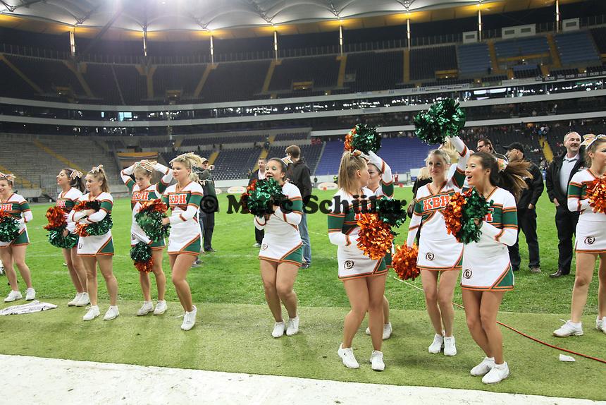 Kieler Cheerleader freuen sich