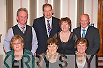 Having a great time at the National Park social in the Gleneagle Hotel Killarney on Friday night were front row l-r: Mary Kenny, Kathleen Carey, Margaret Carey. Back row: Michael Carey, Neilus O'Connell, Imella O'Connell and Johnny Carey all Killarney     Copyright Kerry's Eye 2008