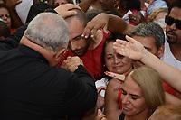 RIO DE JANEIRO, 23,04,2018 - RELIGIÃO-RJ - - Missa com Bispo do Rio de Janeiro Dom Orani Tempesta e Fiéis se reúnem em comemoração ao dia de São Jorge na igreja de Quintino na zona norte do Rio de Janeiro nesta segunda-feira 23, (Foto: Jorge Hely / Brazil Photo Press)
