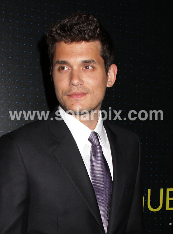 **ALL ROUND PICTURES FROM SOLARPIX.COM**.**SYNDICATION RIGHTS FOR UK, AUSTRALIA, DENMARK, PORTUGAL, S. AFRICA, SPAIN & DUBAI (U.A.E) ONLY**.Armani 5th Avenue Store Grand Opening Celebration Arrivals in New York City, USA.This pic:  John Mayer.JOB REF:     PHZ/Mayer    DATE:  18.02.09.**MUST CREDIT SOLARPIX.COM OR DOUBLE FEE WILL BE CHARGED**.**ONLINE USAGE FEE  GBP 50.00 PER PICTURE - NOTIFICATION OF USAGE TO PHOTO @ SOLARPIX.COM**