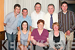 ENJOYING: Staff of Kerry Tractors, Tralee, enjoying their Christmas party in Kirby's Lanterns Hotel, Tarbert, on Friday, December 21st, were front l-r: Trish McMahon, Theresa and Phil Holland. Back l-r: John O'Connor, Dermot McMahon, Don Holland, Jack Holland and Dan Harmon.   Copyright Kerry's Eye 2008
