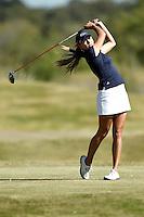 SAN ANTONIO, TX - OCTOBER 30, 2012: The University of Texas at San Antonio Roadrunners host the Alamo Invitational Women's Golf Tournament at the Briggs Ranch Golf Club. (Photo by Jeff Huehn)
