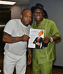 MIAMI, FL - MAY 29: Steve Brown and Michael Colyar backstage at the 9th Annual Memorial Weekend Comedy Festival at James L Knight Center on May 29, 2016 in Miami, Florida. ( Photo by Johnny Louis / jlnphotography.com )