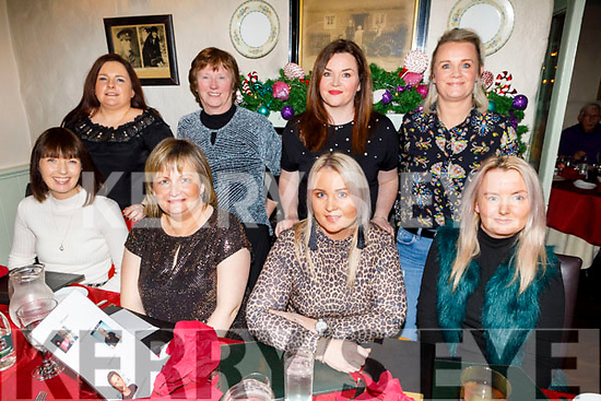Aine Keane from Knockmoyle, Tralee celebrating her big 50 birthday in Cassidys on Saturday.<br /> Seated l to r: Meabh Mannion, Aine Keane, Annmarie Kelliher and Mairead Enright. <br /> Standing l to r: Pat O'Sullivan, Ann Kelliher, Annmarie Bright and Michelle Keane.