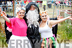Jade Moynihan, John Byrne and Rachel O'Mahony, enjoying Kilflynn Enchanted Fairy Festival on Sunday last.