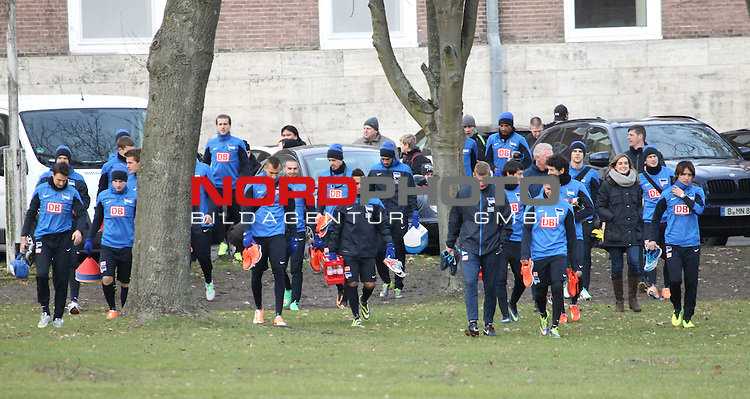 03.01.2014, Sportpark, Berlin, GER, 1.FBL, Hertha BSC , Training, im Bild <br /> <br />               <br /> Foto &copy; nordphoto /  Schulz