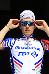Arnaud Demare (FRA) Groupama-FDJ at sign on before the 2019 E3 Harelbeke Binck Bank Classic 2019 running 203.9km from Harelbeke to Harelbeke, Belgium. 29th March 2019.<br /> Picture: Eoin Clarke | Cyclefile<br /> <br /> All photos usage must carry mandatory copyright credit (© Cyclefile | Eoin Clarke)