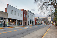 Downtown small town Orange, Virginia located in  Orange County. Photo/Andrew Shurtleff