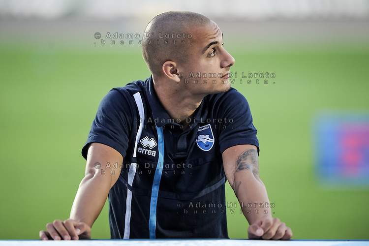 Mitrita Alexandru (Pescara) during the Italian Serie A football match Pescara vs SSC Napoli on August 21, 2016, in Pescara, Italy. Photo by Adamo Di Loreto