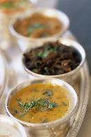 "Asie/Inde/Rajasthan/Jaipur: Le thali ""Daal"" (crème de lentilles) - Recette du restaurant ""Suvarna Mahal"" du ""Rambagh Palace"""
