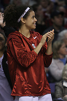 29 March 2008: Cissy Pierce during Stanford's 72-53 win over Pitt in the sweet sixteen game of the NCAA Division 1 Women's Basketball Championship in Spokane, WA.