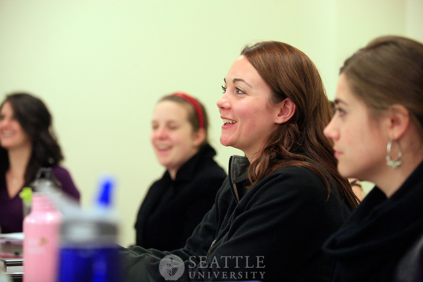 10272011 - Seattle Univesity's College of Education branded imagery for program brochures, SDAD 579 class taught by Swezey