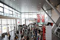 Besucher bei der Frankfurter Buchmesse