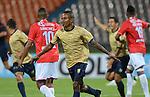 En el estadio Atanasio Girardot, de Medellín, Águilas Doradas de Colombia venció 2-0 a Unión Comercio, de Perú, en el marco del juego de ida de la primera fase de la Copa Sudamericana.