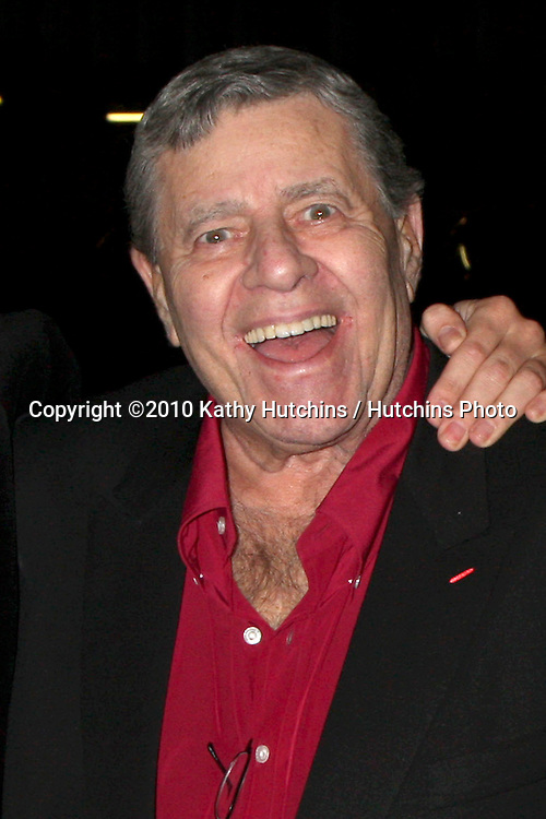 "Jerry Lewis.Soap Fan Mystery Theatre Presents a Staged Reading of Agatha Christie's The ""Unexpected Guest"".Writers Guild of America Theater.Beverly Hills, CA.February 20, 2010.©2010 Kathy Hutchins / Hutchins Photo...."