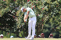 James Hahn (USA) tees off the 2nd tee during Saturday's Round 3 of the 2017 PGA Championship held at Quail Hollow Golf Club, Charlotte, North Carolina, USA. 12th August 2017.<br /> Picture: Eoin Clarke | Golffile<br /> <br /> <br /> All photos usage must carry mandatory copyright credit (&copy; Golffile | Eoin Clarke)