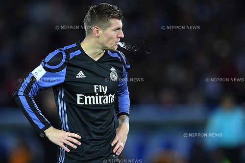 Toni Kroos (Real), <br /> DECEMBER 15, 2016 - Football / Soccer : <br /> FIFA Club World Cup Japan 2016 Semi Final match between <br /> Club America 0-2 Real Madrid <br /> at Yokohama International Stadium, Kanagawa, Japan. <br /> (Photo by AFLO SPORT)