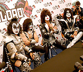 Jun 13, 2008: KISS - Photocall at Download Festival Day One