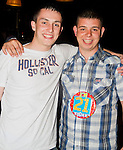 Mark Fitzpatrick celebrates his 21st in the Star and Crescent..Picture: Shane Maguire / www.newsfile.ie.