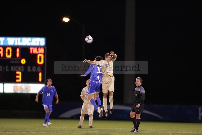 UK played against Tulsa Wednesday night..Photo by Zach Brake | Staff