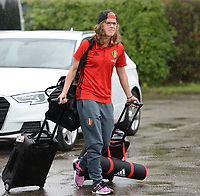 20170725 - TILBURG , NETHERLANDS :  Belgian Laura Deloose pictured going back to Belgium as the Belgian national women's soccer team Red Flames was not able to qualify for the quarter finals after a loss against The Netherlands , on Tuesday 25 July 2017 in Tilburg . The Red Flames finished on 3 th place in Group A at the Women's European Championship 2017 in the Netherlands. PHOTO SPORTPIX.BE | DAVID CATRY