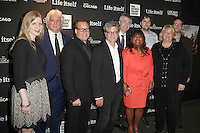 New York, NY - June 23 : (L-R) Justine Nagan, Mark Mitten, Michael Ferro, Steven Zaillian, Steve James, Chaz Ebert, Garrett Basch, Kat White and Zak Piper attend the New York Premiere of Life Itself<br /> held at the Film Society of Lincoln Center Walter Reade Theater<br /> on June 23, 2014 in New York City. Photo by Brent N. Clarke / Starlitepics