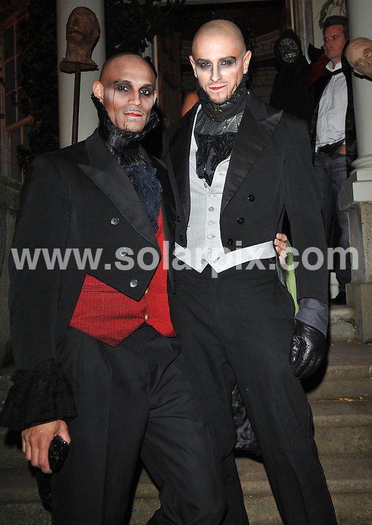 **ALL ROUND PICTURES FROM SOLARPIX.COM**.**WORLDWIDE SYNDICATION RIGHTS**.Inside arrivals at The BloodLust Ball.  Held at Hampton Court House, Surrey..This pic:   Brian Friedman.JOB REF:  10212   SSD     DATE:  31.10.09.**MUST CREDIT SOLARPIX.COM OR DOUBLE FEE WILL BE CHARGED**.**MUST NOTIFY SOLARPIX OF ONLINE USAGE**.**CALL US ON: +34 952 811 768 or LOW RATE FROM UK 0844 617 7637**
