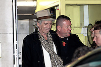 Keith Richards, English musician - London 2010