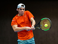 Alphen aan den Rijn, The Netherlands, 25 Januari 2019, ABNAMRO World Tennis Tournament, Supermatch, Final,  Ryan Nijboer  (NED)<br /> Photo: www.tennisimages.com/Henk Koster