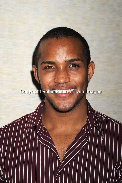 Sterling Suleiman of All My Children.posing for photographers at The 4th Annual ABC Daytime Salutes Broadway Cares/Equity Fights Aids Benefit Post Party on March 2, 2008 at The Marriott Marquis in New York City..Robin Platzer, Twin Images
