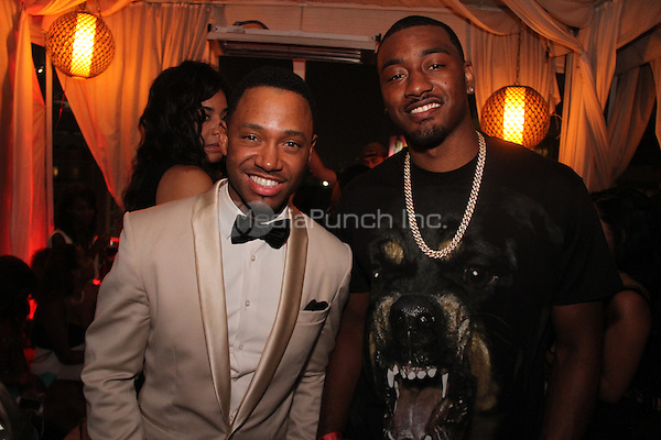 June 28 2014Hollywood California Terrence J and John Wall attends the Interscope Party Walik Goshorn / MediaPunch