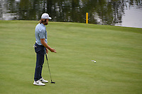 Tommy Fleetwood (ENG) barely misses his birdie putt on 17 during round 4 of the World Golf Championships, Mexico, Club De Golf Chapultepec, Mexico City, Mexico. 2/24/2019.<br /> Picture: Golffile | Ken Murray<br /> <br /> <br /> All photo usage must carry mandatory copyright credit (© Golffile | Ken Murray)