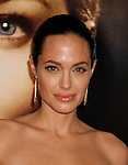 "WESTWOOD, CA. - December 08: Actress Angelina Jolie arrives at the Los Angeles premiere of ""The Curious Case Of Benjamin Button"" at the Mann's Village Theater on December 8, 2008 in Los Angeles, California."