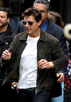 June 13, 2012 Tom Cruise shooting on location for his new film, 'Oblivion' at the Empire State Building in New York City. © RW/MediaPunch Inc. NORTEPHOTO.COM
