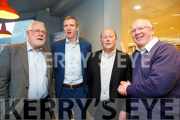 Horgans Centra Ardfert Official Opening Pictured L-R  Martin Ferris TD , Brendan Horgan, Henry Shefflin andJohn Brassil TD