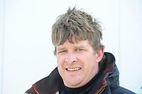 SKUTSJESILEN: LANGWEER: 15-04-2012, Schipper Jaap Zwaga, SKS Langweer, ©foto Martin de Jong
