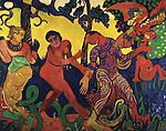 Andre Derain (1880-1954)     The dance / 1906. Credit: Album / Joseph Martin