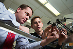 1301-46 134<br /> <br /> 1301-46 ME Fluid Mechanics Lab<br /> <br /> 110 CB, Fluid Mechanics Lab, Dr. Scott Thomson<br /> <br /> January 25, 2013<br /> <br /> &copy; BYU PHOTO 2013<br /> All Rights Reserved<br /> photo@byu.edu  (801)422-7322